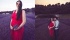 Session photo grossesse dans les champs de lavandes a Nyons photo Armen Hambardzumian