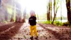 la petite fille regard a travers photo par Armen Hambardzumian